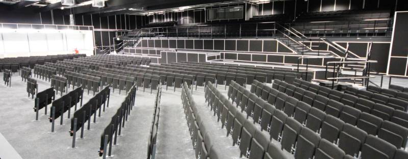 2012 Olympic Games Media Centre Auditorium Seating and Staging