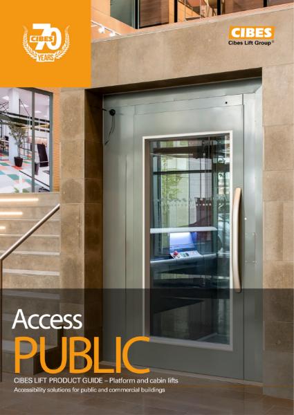 Cibes Lift UK Public Access Lifts