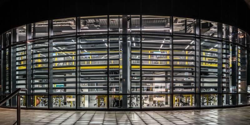 Sky Leeds Dock - Solar Shading