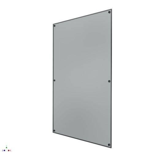Pilkington Planar Insulated Glass Unit - Optiwhite 15 mm; Air 16 mm; Optiwhite 6 mm; Interlayer 1.52 mm; Optiwhite 6 mm