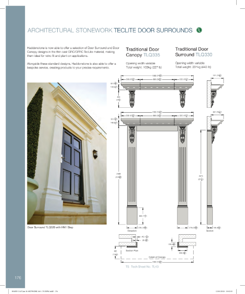 Door Surrounds - Technical Details