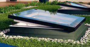 Flat Roof Window Type F