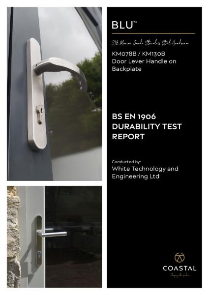 BLU™ - KM130 Ergonomic Lever Door Handle Durability Test