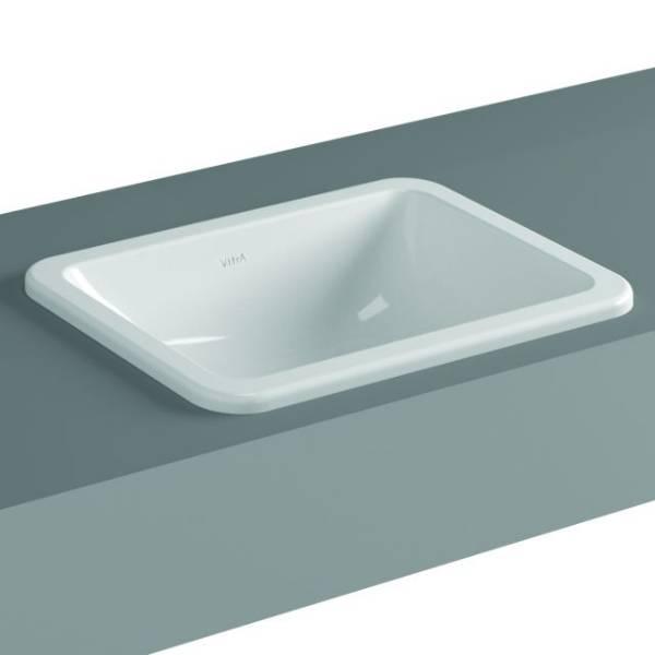 VitrA S20 Counter-top Basin, 45 cm, Square, 5473