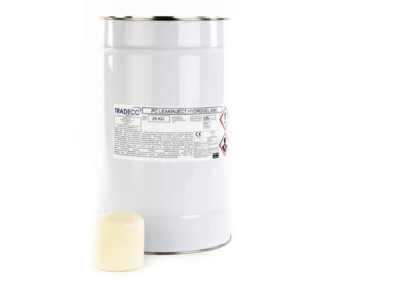 TRADECC PC Leakinject Hydrogel 6880 - Flexible Foaming Polyurethane Injection Resin