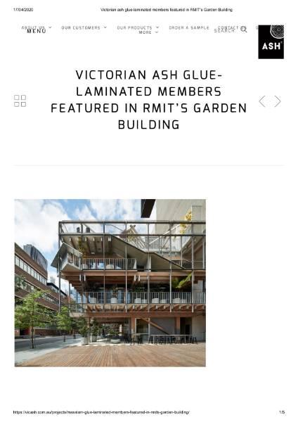 RMIT's Garden Building