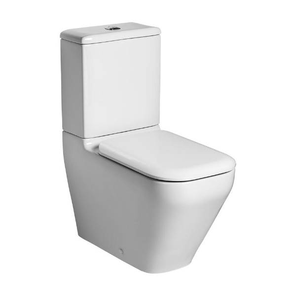 Turano Close Coupled Back to Wall WC Suite with Aquablade technology