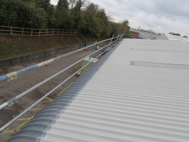 Metal Roof Refurbishment Project Using BBA Approved Metalseal by Liquasil ltd