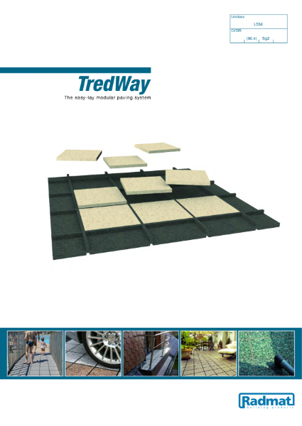 TredWay - The easy-lay modular paving system