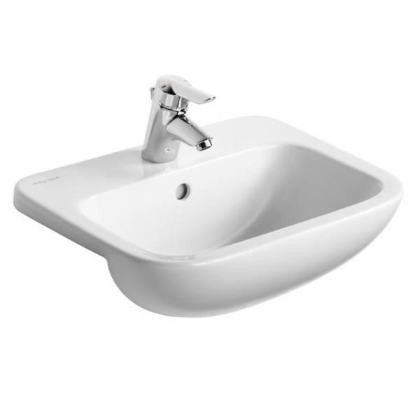 Profile 21 50cm Semi-Countertop Washbasin
