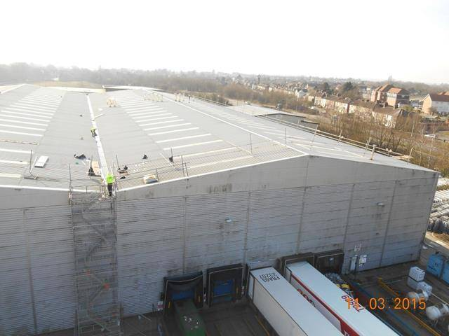 Cut Edge Corrosion Treatment & Liquid Gutter Lining, Snodland