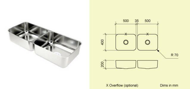 Sink Bowl BD50