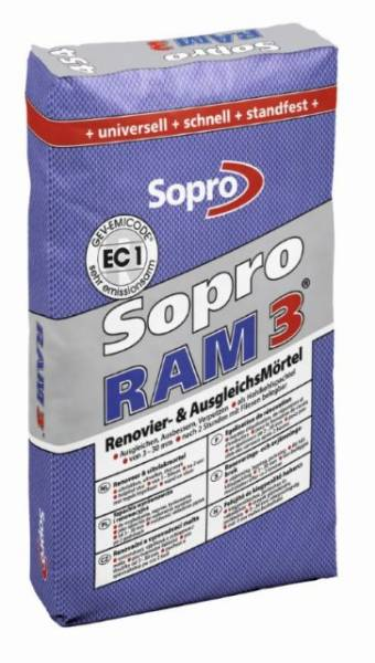 Sopro RAM 3 454 Renovation and Levelling Mortar