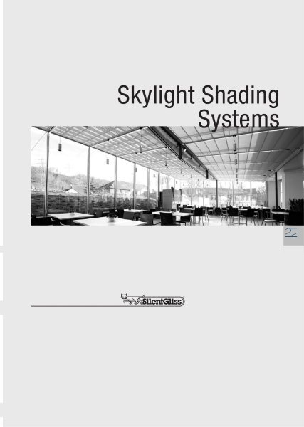 Skylight Shading by Silent Gliss