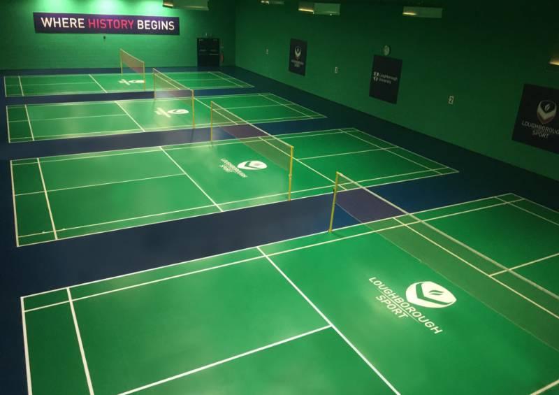 Loughborough University Badminton Centre