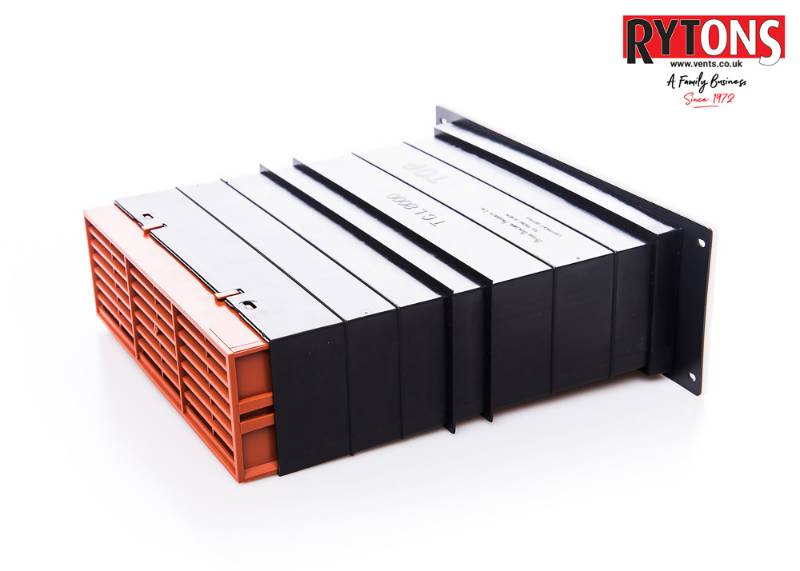 TCL8 - Rytons 9 x 3 Ventilation Set with Flush Louvre Ventilator