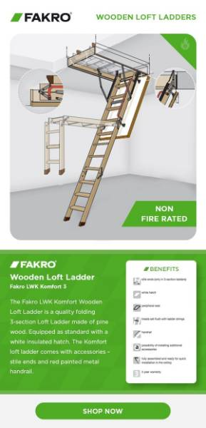 Fakro Loft Ladder - Buyer's Guide