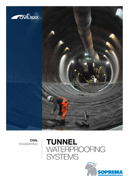Tunnel Waterproofing Systems