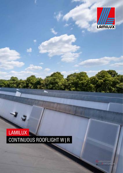 LAMILUX Continuous Rooflight WR