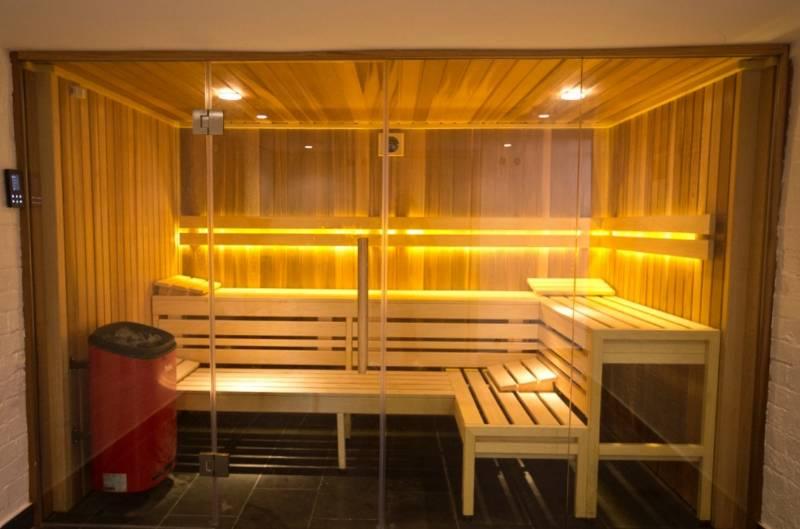 Residential Sauna Suite