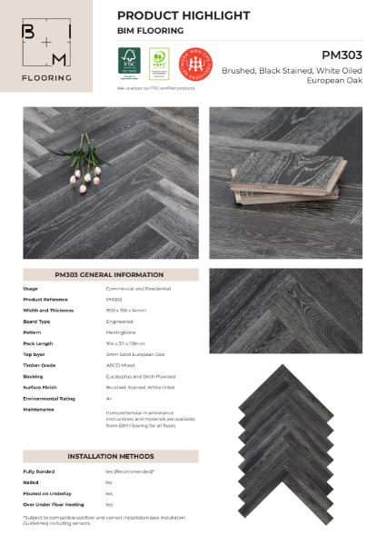 Product Highlight - Herringbone PM303