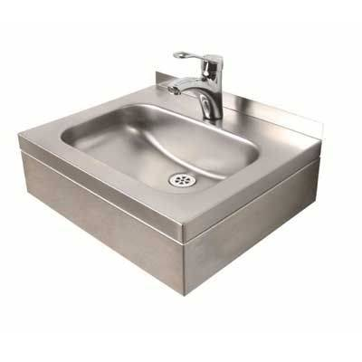 Stainless Steel Wall Hung Basin 500