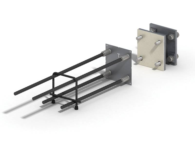 Ancon Stainless Steel To Concrete Balcony Connectors