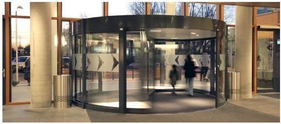 Hospital - Revolving Door Main Entrance