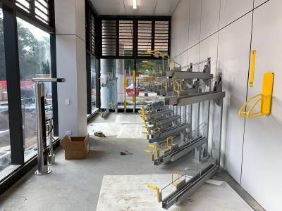 New Bike Parking Facility For Macquarie University
