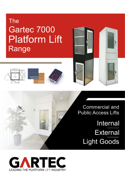 Gartec Lifts - 7000 Commercial Platform Lift Range