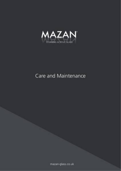Mazan Care and Maintenance Guide