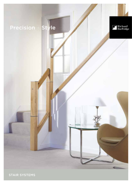 Consumer brochure Internal Stairparts and Balustrade