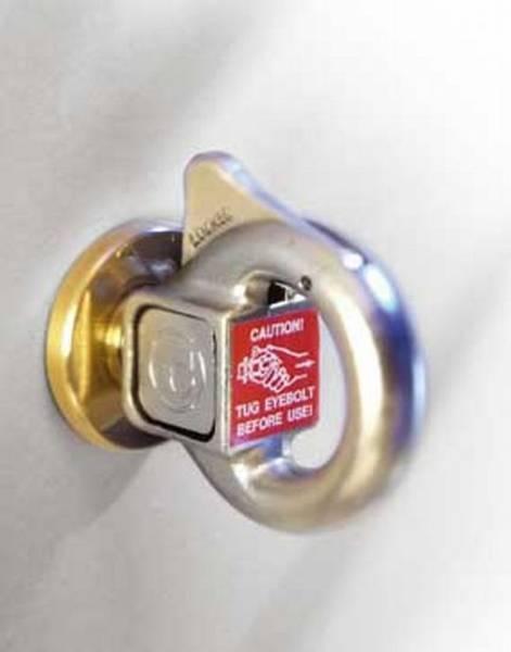 PushLock™ Safety Eyebolt System