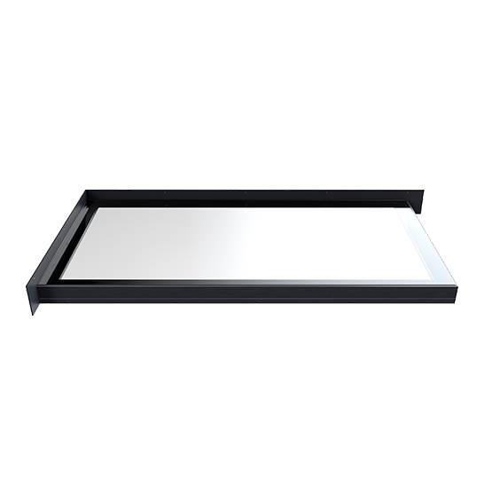Flushglaze Fixed Rooflight - Two Wall Abutment
