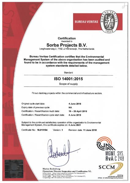 Sorba ISO 14001