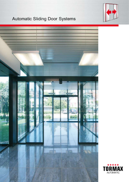 Automatic Sliding Entrance Door Systems - commercial, retail, education, healthcare, leisure applications