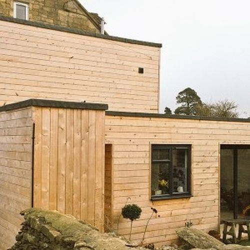 British Western Red Cedar Profiled External Cladding
