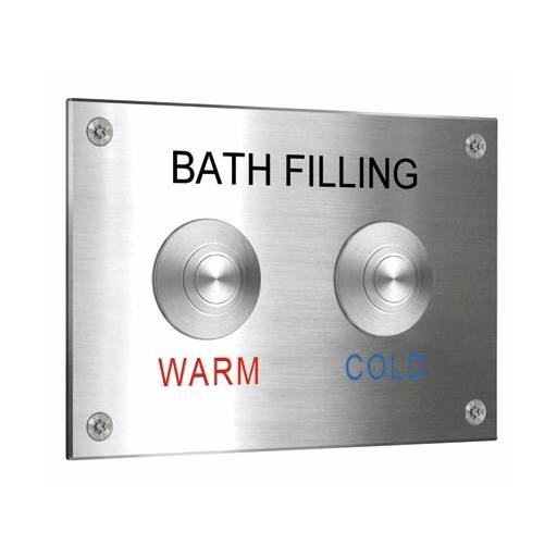 Tactile Switch with 38 mm Bezel for use with Control Plates