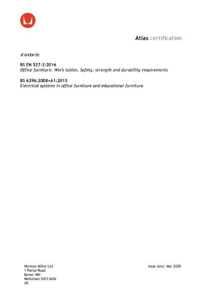Atlas Certification
