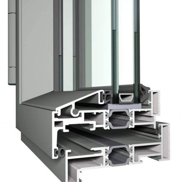 Aluminium Window CS24 Slim Line System