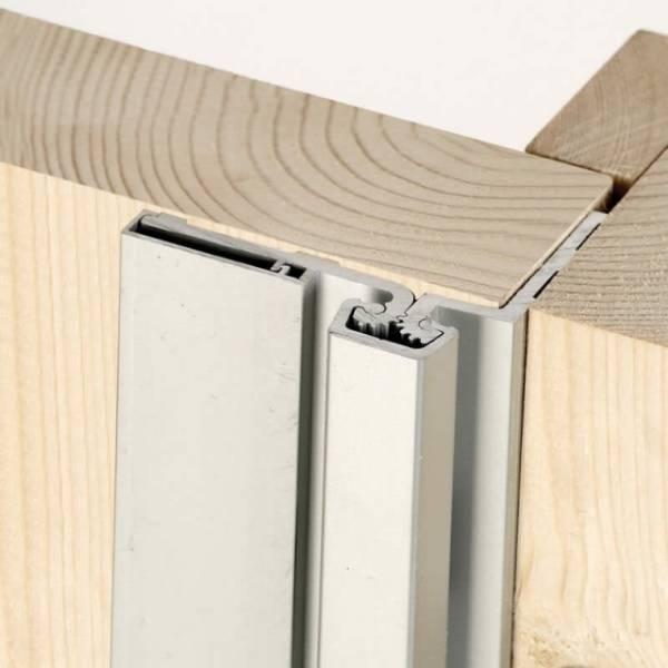 Half Surface Aluminium Hinge