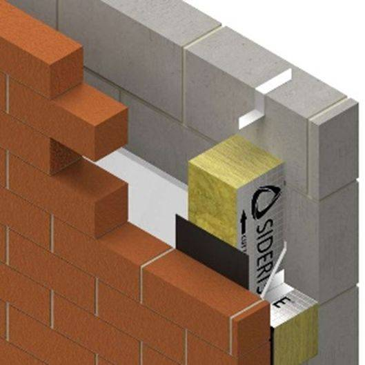 SIDERISE EW Cavity Barriers and Fire Stops for Masonry External Walls