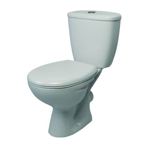 Atlas Trade Close Coupled Push Button WC pack including SC seat