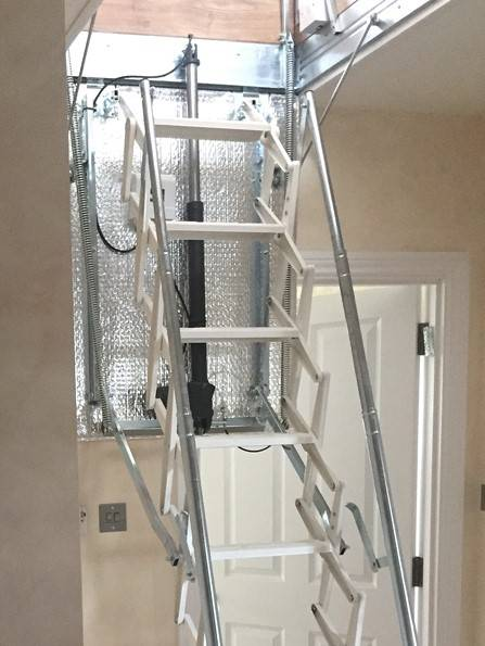 Electric loft ladder ticks all the boxes