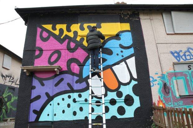 Street artists put colour back into the community at Preston Road