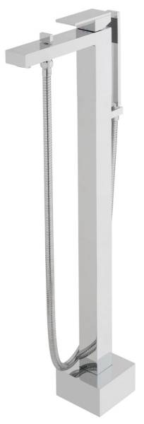 Notion Floor Standing Bath Mixer Tap with Shower Kit