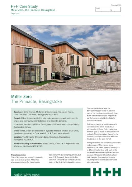 Case Study - Miller Zero, Basingstoke