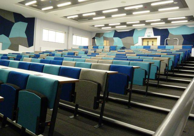 Vario C9 with fixed desk- Lecture Theatre Seating