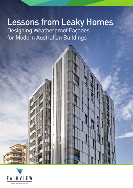 Lessons from Leaky Homes - Designing Weatherproof Facades