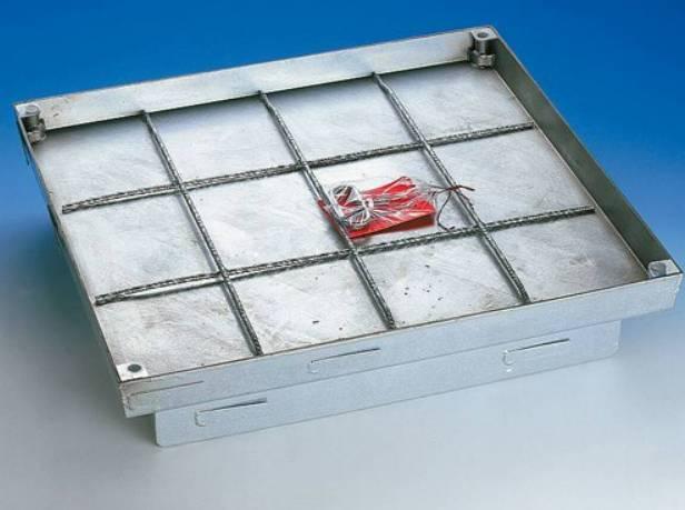Floor Door Heavy Duty Galvanized Steel Floor Hatch - 250 kN/400 kN - SBVS
